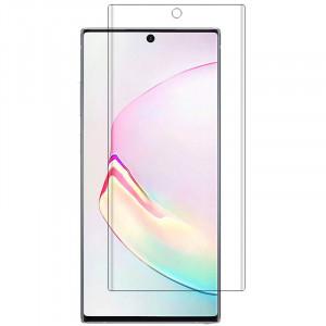 3D Стекло для Samsung Galaxy Note 10 Plus ( С ультрафиолетовым клеем )