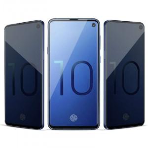 Защитное стекло Samsung Galaxy S10 Lite Privacy Anti-Spy (Конфиденциальное)