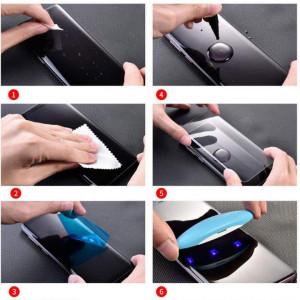 3D Стекло для Samsung Galaxy S9 ( С ультрафиолетовым клеем )
