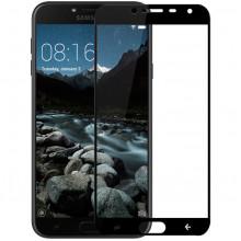 Стекло Samsung J4 2018 J400 – Full Glue (Клей по всей поверхности)