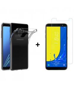 Чехол + Стекло Samsung J6 2018 J600 (Комплект)