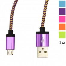 USB Кабель в оплетке – 1 м