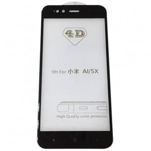 4D Стекло на Xiaomi Mi A1 – Скругленные края
