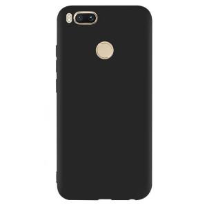 Черный силиконовый чехол на Xiaomi Mi A1