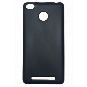 Черный силиконовый чехол для Xiaomi Redmi 3 s