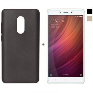 Комплект: Бампер + Стекло Xiaomi Redmi Note 4