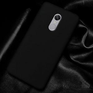 Черный силиконовый бампер на Xiaomi Redmi Note 4x – Графит
