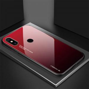 Чехол Xiaomi Redmi Note 5 градиент TPU+Glass