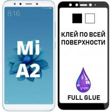3D Защитное Стекло Xiaomi Mi A2 (Mi 6X) – Full Glue (С полным клеем)