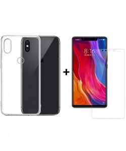 Чехол + Стекло Xiaomi Mi8 SE (Комплект)