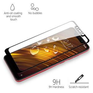 3D Стекло Xiaomi Pocophone F1 – Full Glue (Клей по всей поверхности)