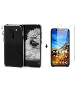 Чехол + Стекло Xiaomi Pocophone F1 (Комплект)
