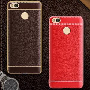Чехол с напылением Xiaomi Redmi 4x – Litchi