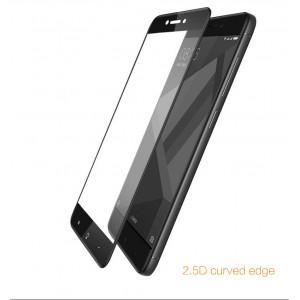 Чехол + 3D Стекло Xiaomi Redmi 4X (Black)