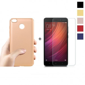 Комплект: Бампер + Стекло Xiaomi Redmi 4x