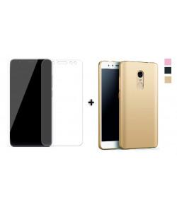 Стекло + Бампер Xiaomi Redmi 5 – Soft Touch (Комплект)