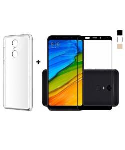 Чехол + 3D Стекло Xiaomi Redmi 5 – Комплект