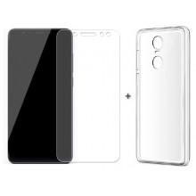 Чехол + Стекло Xiaomi Redmi 5 – Комплект