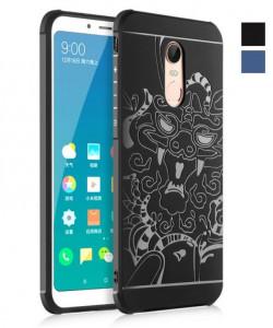 Прорезиненный бампер Xiaomi Redmi 5 – Dragon