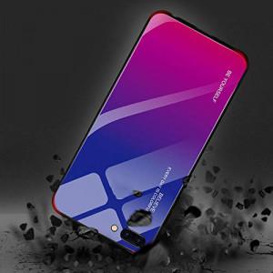 Чехол Xiaomi Redmi 6А градиент TPU+Glass