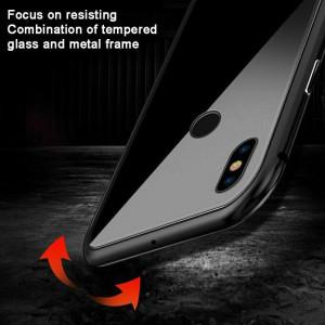 Магнитный чехол для Xiaomi Redmi Note 5 Pro Magnetic Case – OneLounge Glass