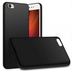 Чехол + 3D Стекло Xiaomi Redmi Note 5A (Black)