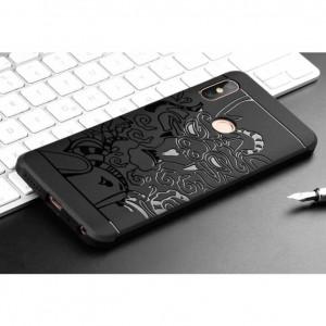 Прорезиненный бампер Xiaomi Redmi Note 6 Pro – Dragon