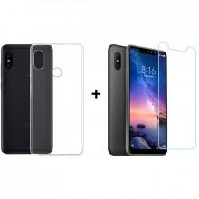 Чехол + Стекло Xiaomi Redmi Note 6 Pro (Комплект)