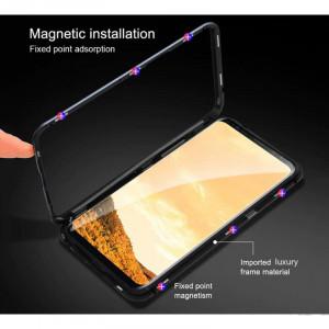 Магнитный чехол для Xiaomi Redmi Note 7 Pro Magnetic Case – OneLounge Glass