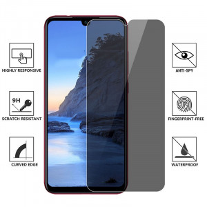 Защитное стекло Xiaomi Redmi Note 7 Pro Privacy Anti-Spy (Конфиденциальное)