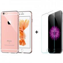 Комплект: Чехол + Стекло iPhone 6 Plus