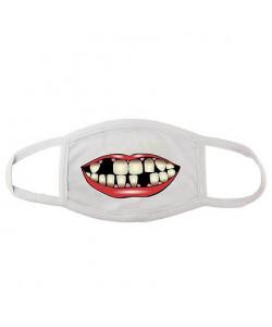 Маска для лица – Беззубый рот