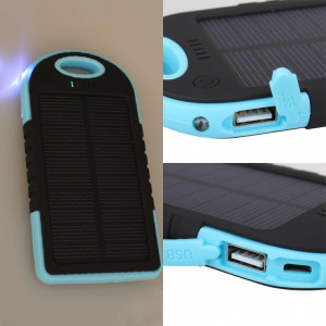 Солнечный power bank Solar Charger 12000 mAh.