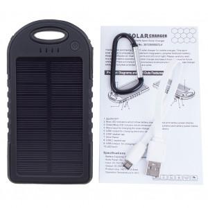 Солнечный Пауэр банк Solar Charger ES500 5000 mAh.