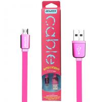USB Кабель Micro USB AWEI CL-900 (Розовый)