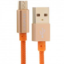 USB Кабель Micro USB AWEI CL-920 (Оранжевый)