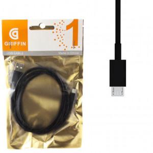 USB Кабель Micro USB Griffin – 1 м (Черный)