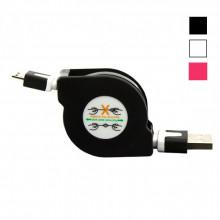 USB Кабель Рулетка Micro USB – 1 м