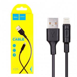 USB кабель Hoco X25 Lightning(Apple)